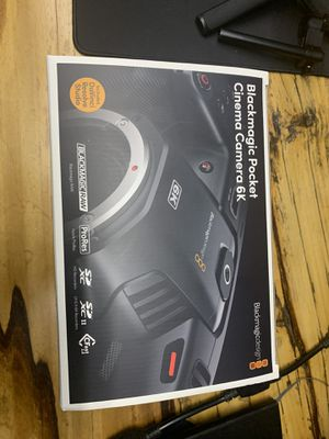 Brand new Blackmagic Pocket Cinema Camera 6k for Sale in North Olmsted, OH