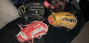 Softball gloves for Sale in Riverside, CA