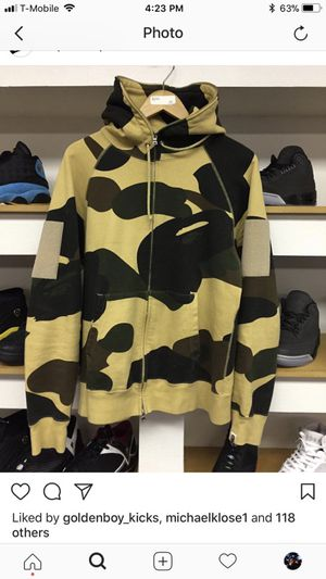 Yellow Bape Jacket for Sale in Garland, TX