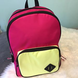NOBO Pink/Yellow colorblock laptop backpack for Sale in Chesterfield, VA