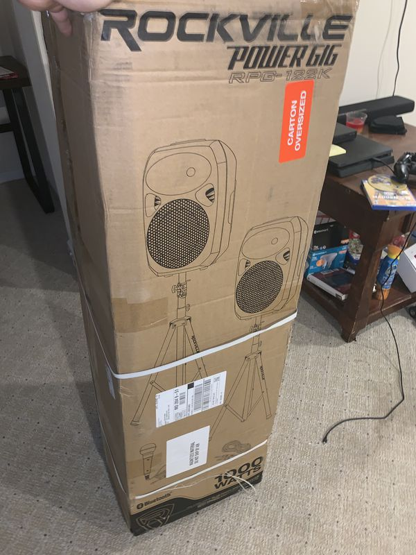 Rockville Dual standing speakers