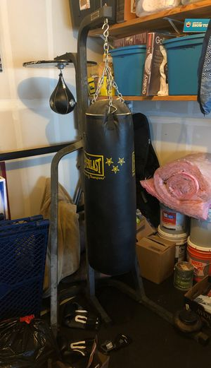 Boxing Stand with 80lb Bag for Sale in Seattle, WA