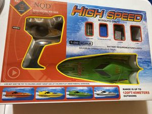 High Speed Mosquito Craft Boat Toy for Sale in West Covina, CA