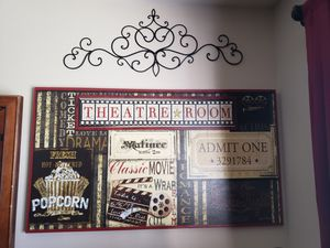 Movie theater room decorations for Sale in Santa Maria, CA