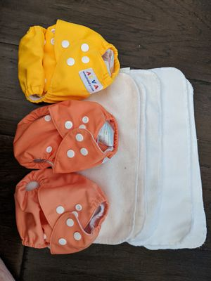 3 Newborn cloth diaper pockets for Sale in San Diego, CA