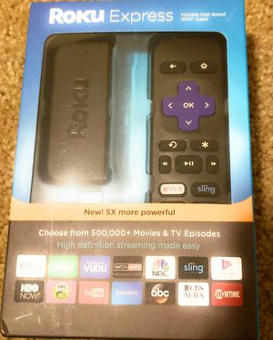 Roku Express Streaming TV Player for Sale in Hampshire, IL