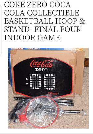 Coca cola zero basketball hoop for Sale in Los Angeles, CA