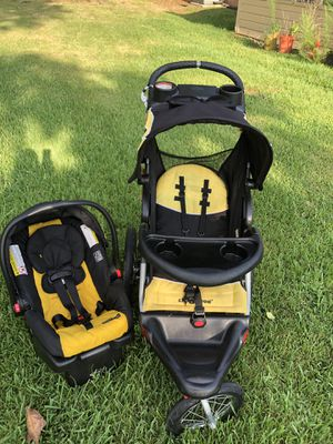 Stroller and car seat with base for Sale in Spring, TX