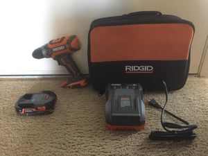 RIDGID 18V Brushless 2-Speed Drill for Sale in San Diego, CA
