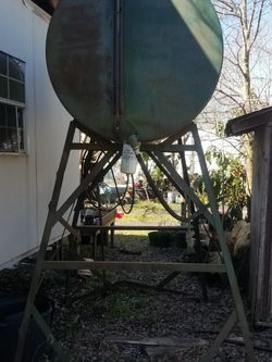 500 Gallon Gravity Fed Diesel Fuel Tank for Sale in Houston,  TX