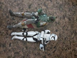 Starwars action figures for Sale in San Jose, CA