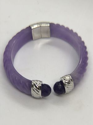 Jadeite and Amethyst bracelet for Sale in Olympia, WA