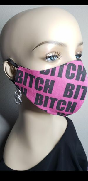CUTE HOT PINK B*TCH FACE MASK for Sale in Alhambra, CA
