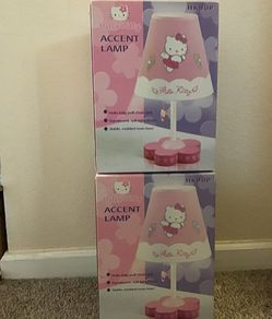 Hello kitty lamps 2 for Sale in Salinas,  CA