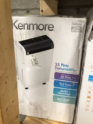 Kenmore KM35 35pint Dehumidifier #55530 for Sale in Columbus, OH