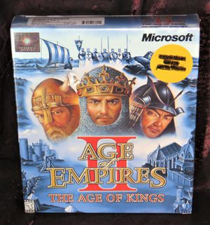 Age Of Empires 2 - New Sealed/Unopened Big Box PC Game for Sale in Modesto, CA