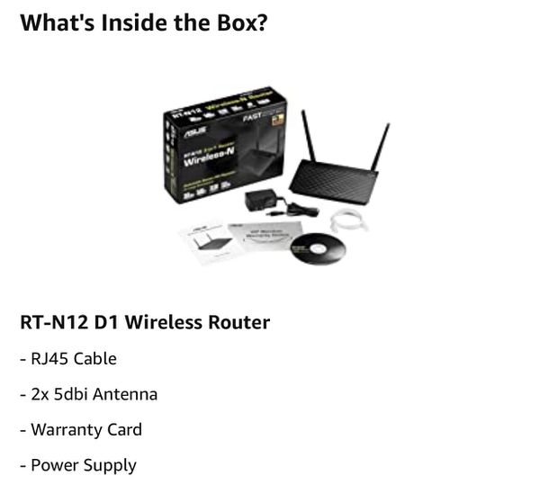 Asus RT-12N Wireless Router 3-in-1