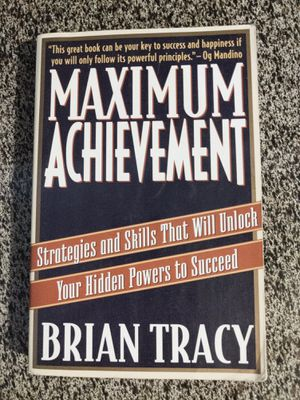 Book: Maximum Achievement by Bryan Tracy for Sale in Corinth, TX