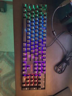 Redragon K551 Mechanical Gaming Keyboard RGB for Sale in Auburn, WA
