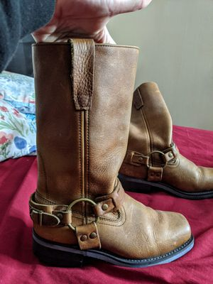 Non slip biker riding boots Double H for Sale in Ross, OH