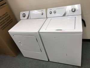 Admiral top load epectric 220v set Refurbished with 6 Month warranty for Sale in Denver, CO