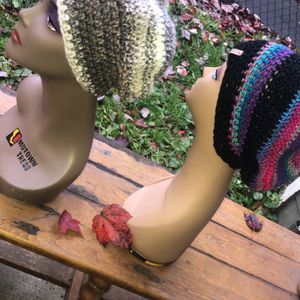 Two Handmade Crochet Caps for Sale in Portland, OR