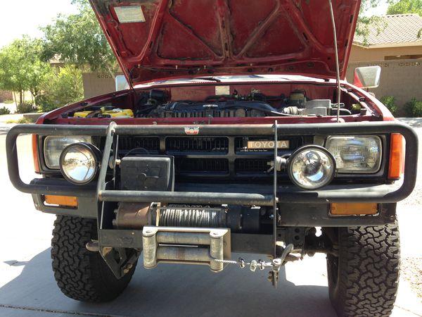 Toyota Warn bumper guard / bull bar