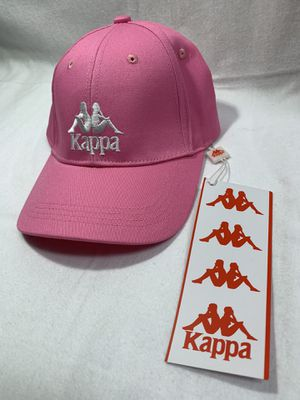 NWT Kappa Logo Pink & White Embroidered Snapback Hat Cap for Sale in San Diego, CA