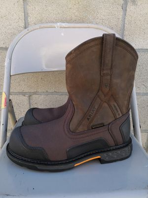 Ariat composite toe work boots size 10.5 EE for Sale in Riverside, CA