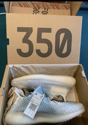 Yeezy boost 350 white cloud size 10 Kanye adidas for Sale in Huntington Beach, CA