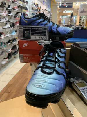Nike Air Vapormax Plus Hyper Blue Size 10.5 for Sale in Wheaton, MD