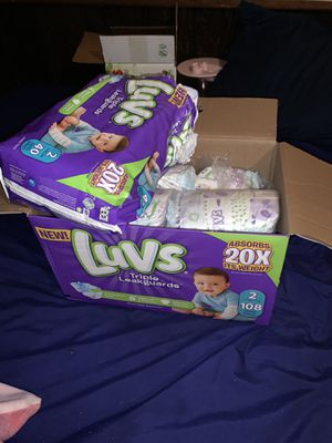 Size 2 diapers for Sale in Brownstown Charter Township, MI