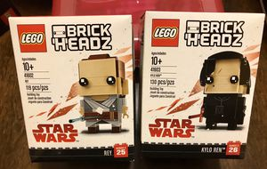 LEGO Star Wars Kylo Ren & Rey for Sale in Tacoma, WA