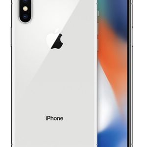 Mint Condition iPhone X 64GB SILVER for Sale in Diamond Bar, CA