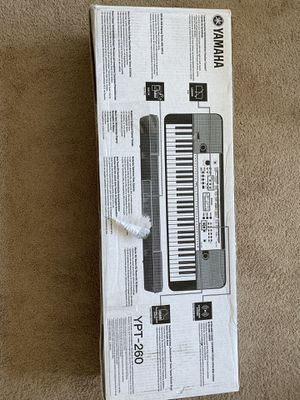 YAMAHA YPT-260 Key board/Electricity Piano for Sale in West Haven, CT