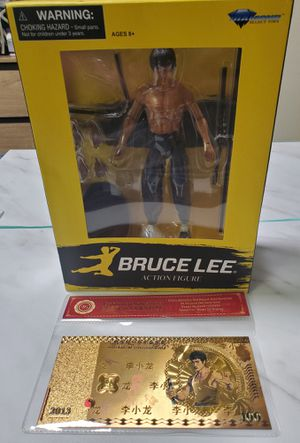 Bruce Lee Action Figure for Sale in Queens, NY