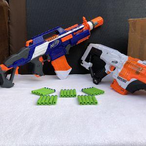 Nerf Rapidstrike & Desolator Guns (great condition) for Sale in Baldwin Park, CA