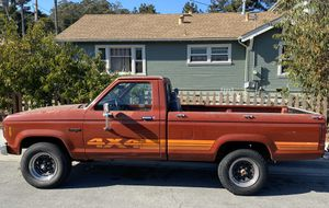 MUST SELL - 1984 Ford Ranger 4x4, needs work, pink slip in hand for Sale in Santa Cruz, CA