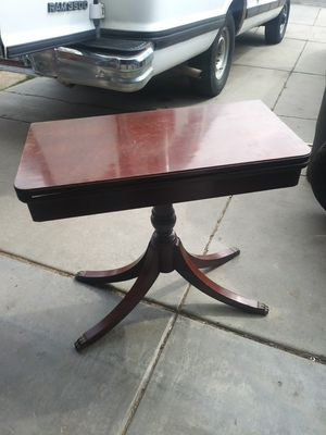 Wooden card table for Sale in Colorado Springs, CO