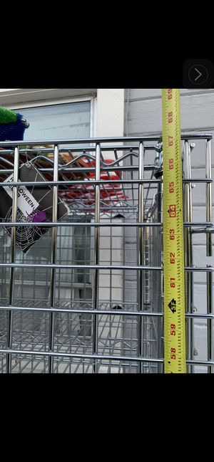 Metal shelving Locking doors for Sale in Hayward, CA