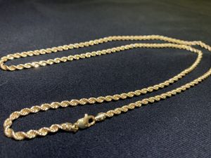 10k gold rope chain for Sale in Phoenix, AZ