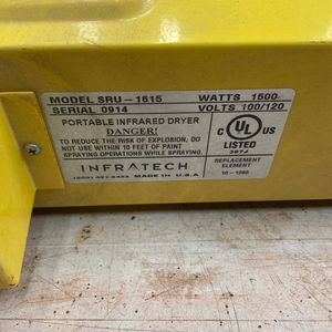 INFRATECH CURING LAMP for Sale in Hialeah, FL