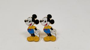 Walt Disney Mickey Mouse Cufflinks Official Licensed Japan Vintage for Sale in Loma Linda, CA