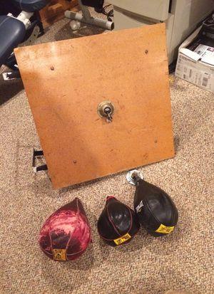 Speed bag set for Sale in Holbrook, MA