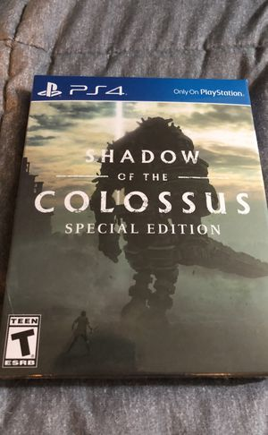 Shadow of the Colossus Special Edition (PS4) for Sale in San Francisco, CA