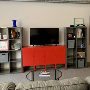 Metal Storage Unit/TV Stand for Sale in Seattle, WA
