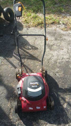 Lawn mower electric Homelite for Sale in Pompano Beach, FL