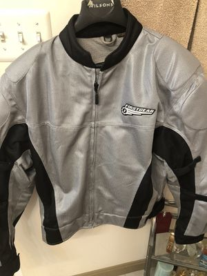 motorcycle jacket grey ( XL). First Gear brand for Sale in Ashburn, VA