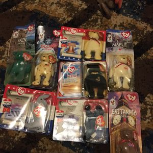1990 mini collectible beanie babies for Sale in Milton, FL
