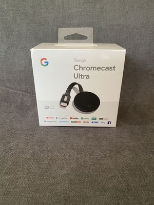Google Chromecast ultra for Sale in Queens, NY